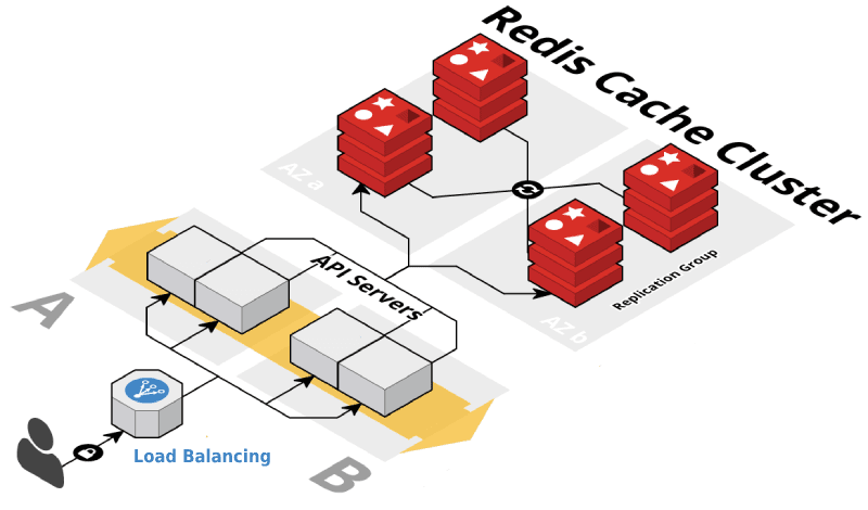 Redis usage in the application