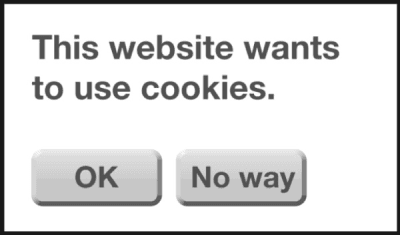 This website wants to use cookies
